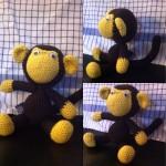 En lille abe